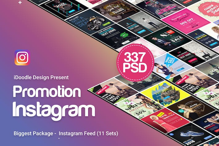 Thumbnail for Promotion Instagram Banners Ads - 337PSD