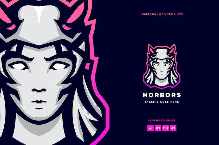 Horrors Logo Template