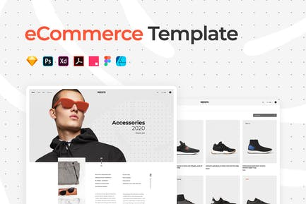 eCommerce Outlet Template