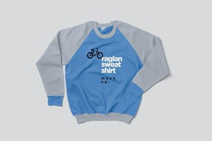 Raglan Sweatshirt Mock-ups