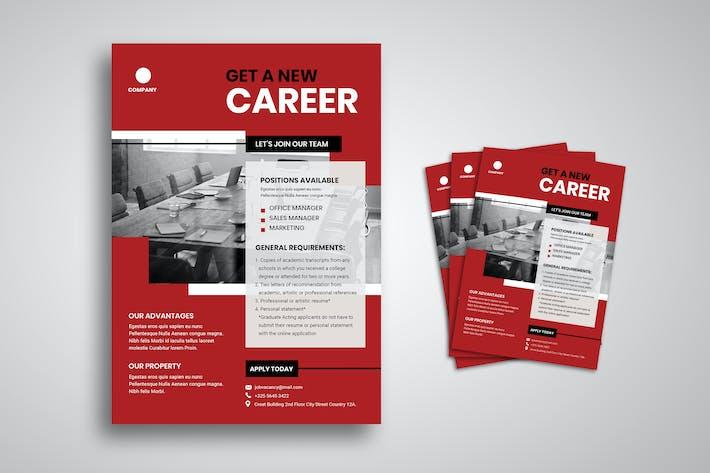 Thumbnail for Job Hiring Flyer