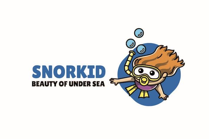 Thumbnail for Snorkling - Mascot Logo