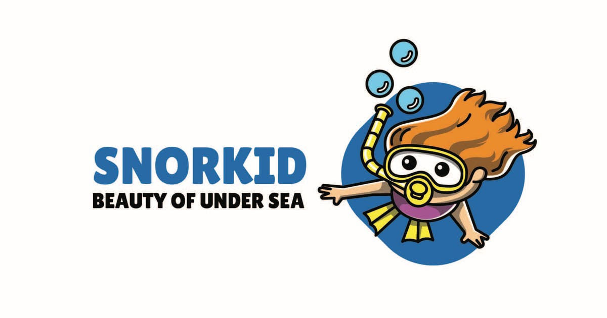 Download Snorkling - Mascot Logo by aqrstudio