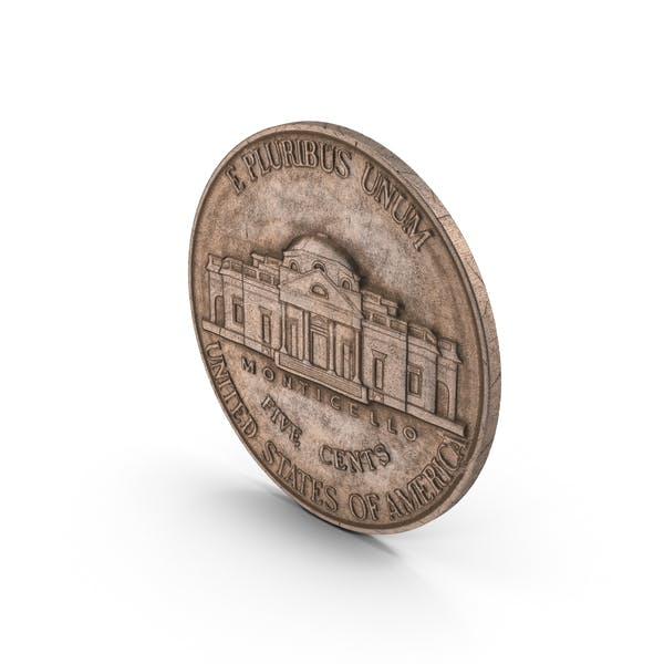 US Nickel Aged