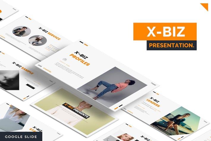 Thumbnail for Xbiz - Google Slide Template