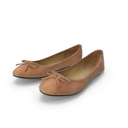Women Casual Ballerina Shoes Pair