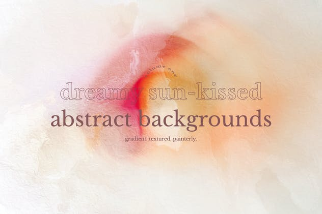 Dreamy Sun-kissed Abstract Background Collection