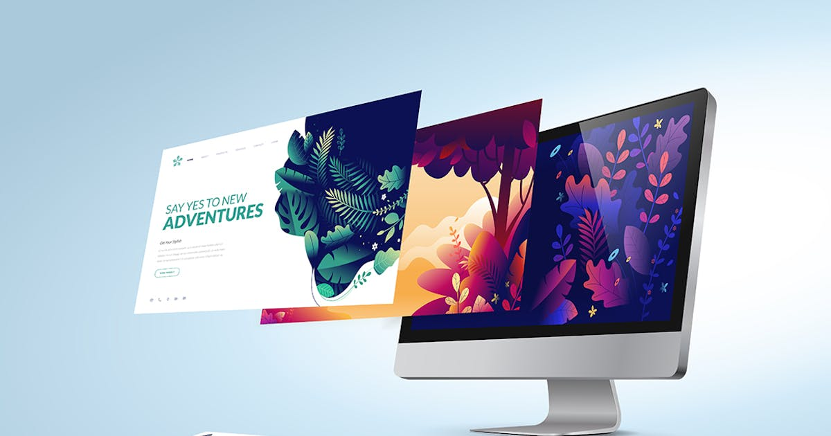 Web Design Template by PureSolution