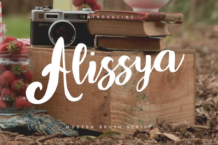 Cover Image For Alissya Typeface