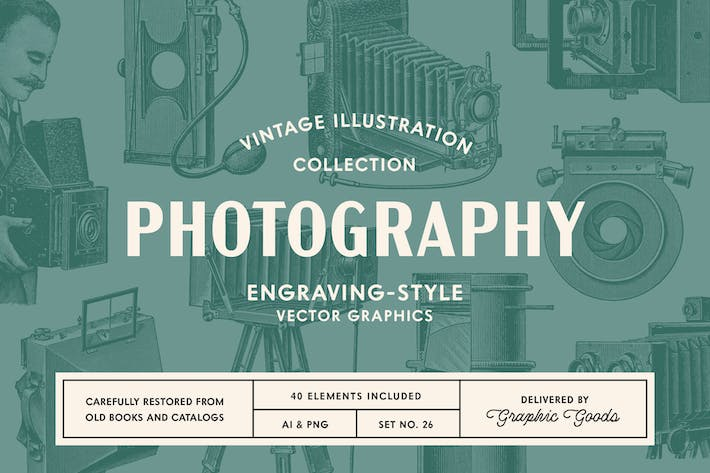 Thumbnail for Photography - Vintage Illustrations