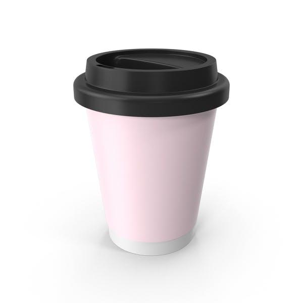 Thumbnail for Розовая кофейная чашка