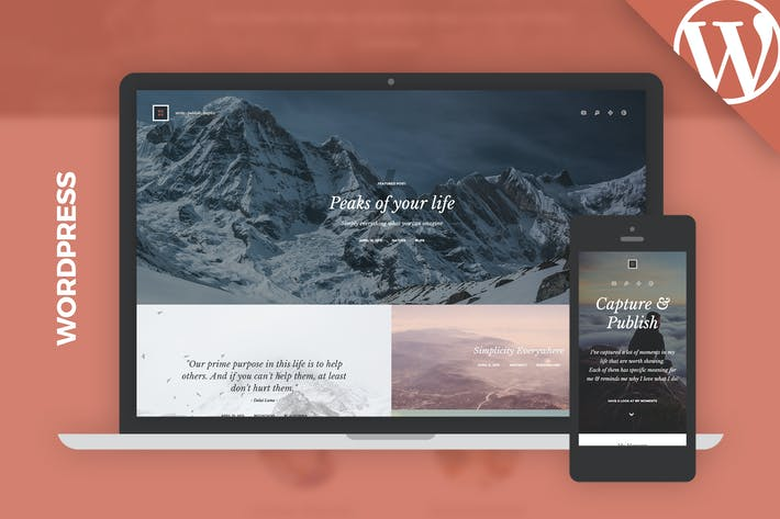 Thumbnail for Kopy WP - Simply a Blog WordPress Theme