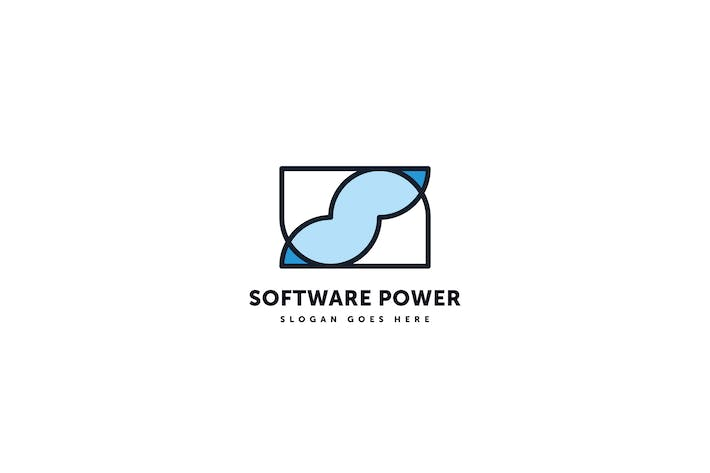 Thumbnail for Software Power Logo Template