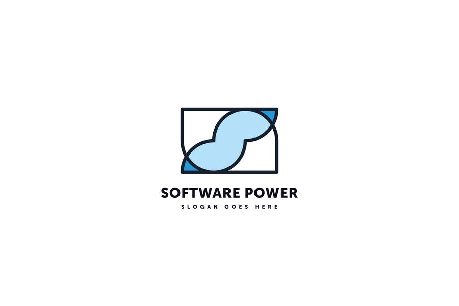 Software Power Logo Template