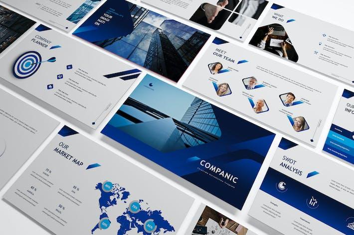 Companic - Corporate Keynote Template