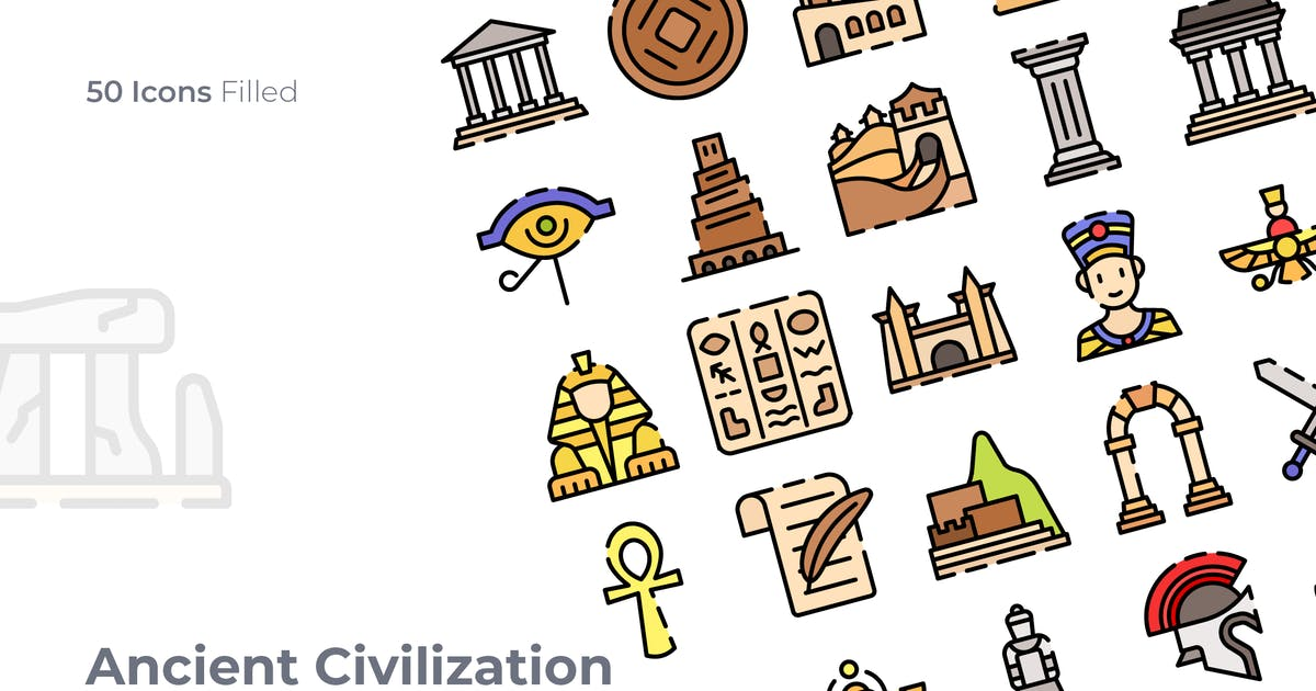 Download Acient Civilization Filled Icon by GoodWare_Std