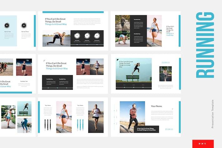 Thumbnail for Running - Sport Powerpoint Presentation Template