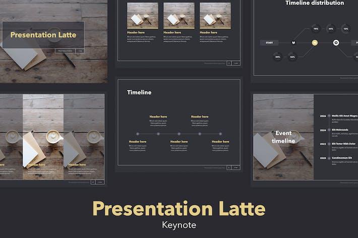 Latte Keynote Template