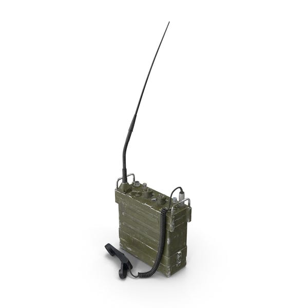 AN/PRC-77 Portable Transceiver (Communications Radio)