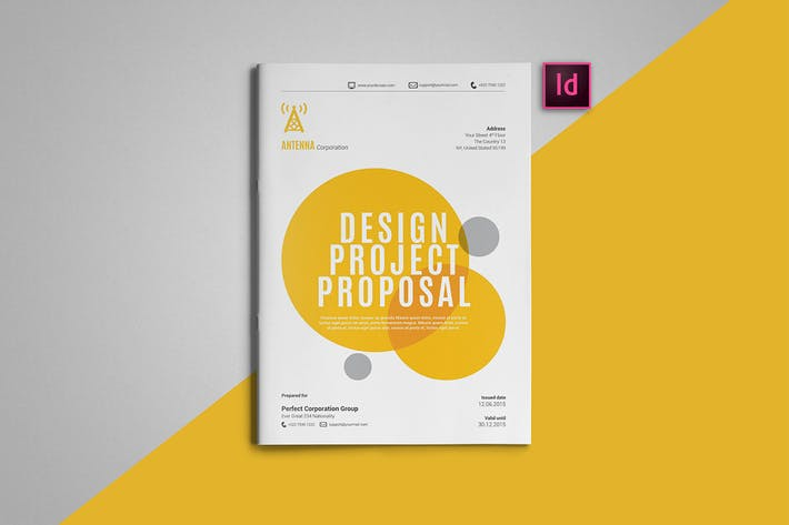 Thumbnail for Indesign Proposal Template