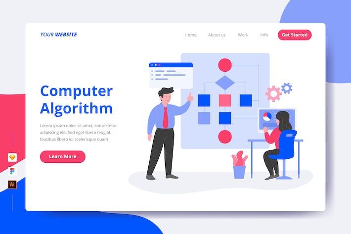 Thumbnail for Computer Algorithm - Landing Page