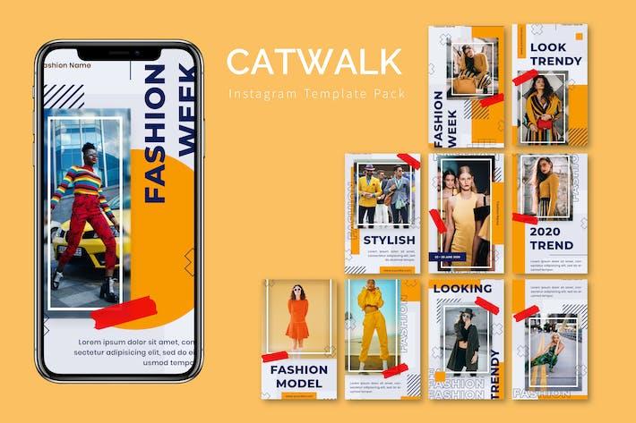 Catwalk - Instagram Template Pack