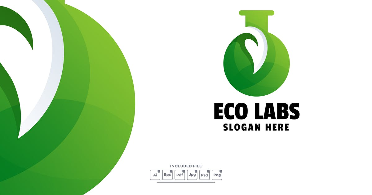 Download Eco Labs Gradient Logo Template by yuanesei