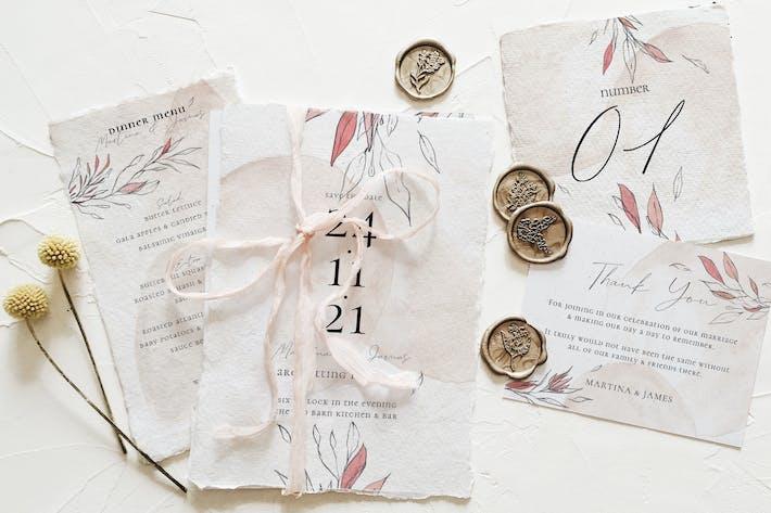 Thumbnail for Blush & Foliage Wedding Suite