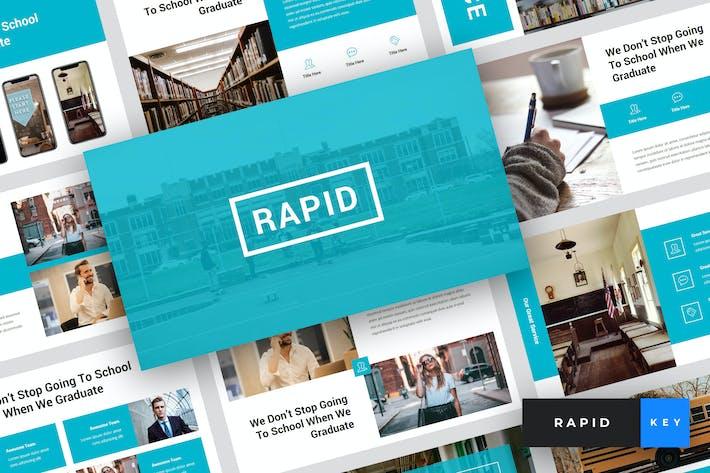 Thumbnail for Rapid - Education & School Keynote Template