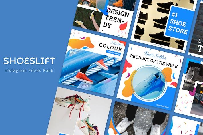 Thumbnail for Shoeslift - Instagram Feeds Pack
