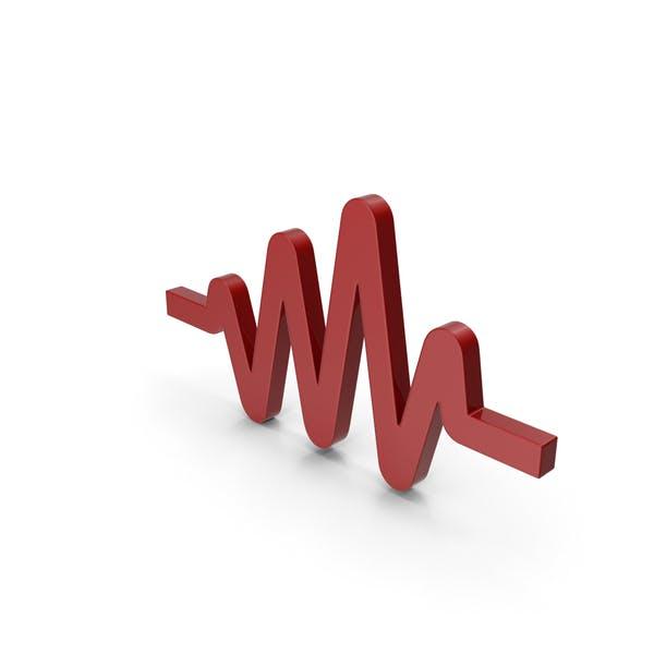 Impulssymbol rot