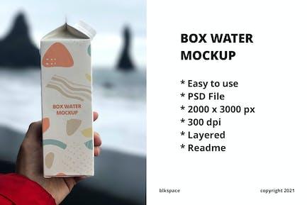 Boîte à eau Maquette