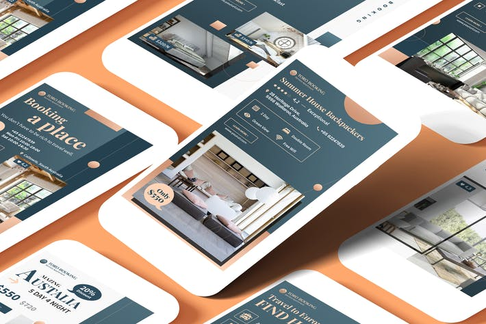 Thumbnail for Hotel & Travel Agency Instagram Stories Template