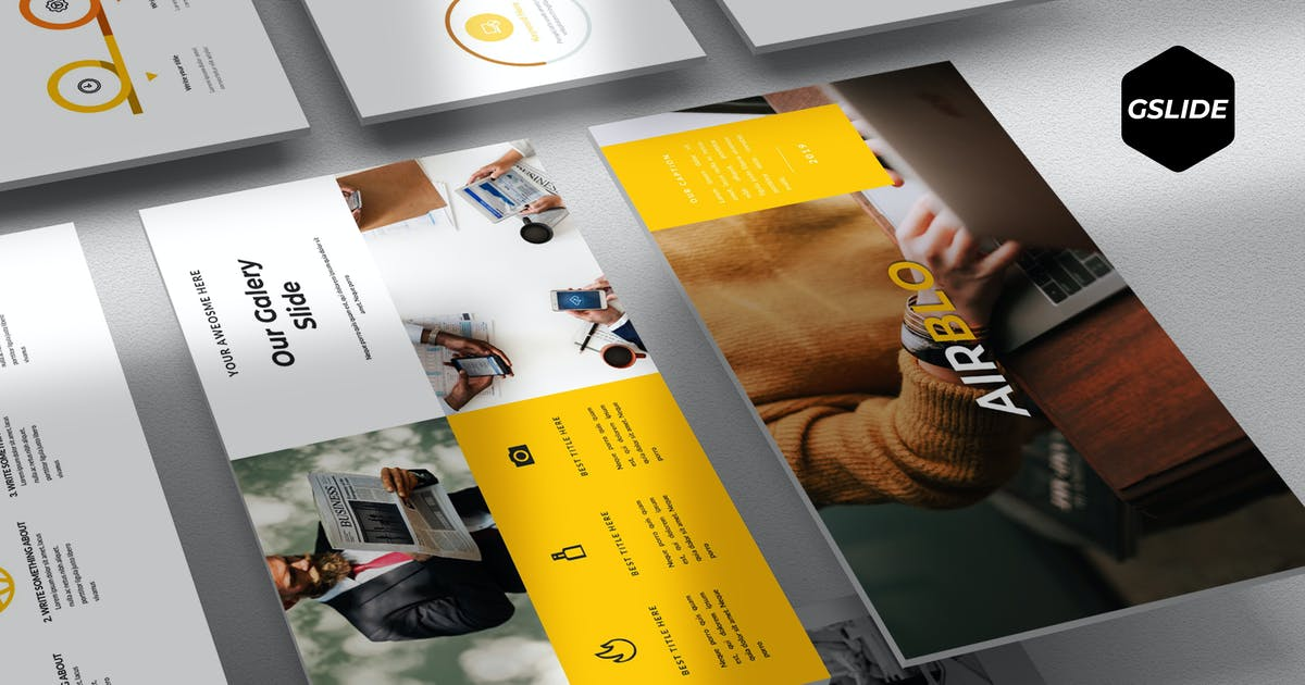 Download Airblo - Google Slides Template by aqrstudio