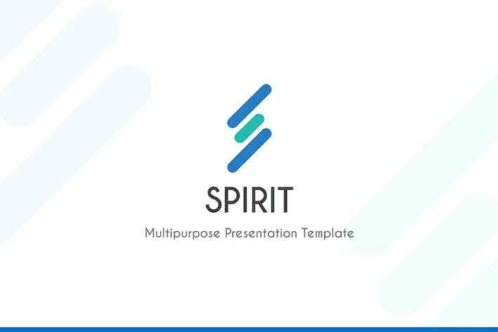 Thumbnail for Spirit - Keynote Template
