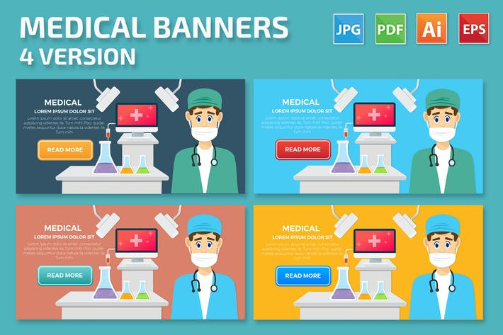 Thumbnail for Дизайн медицинских баннеров
