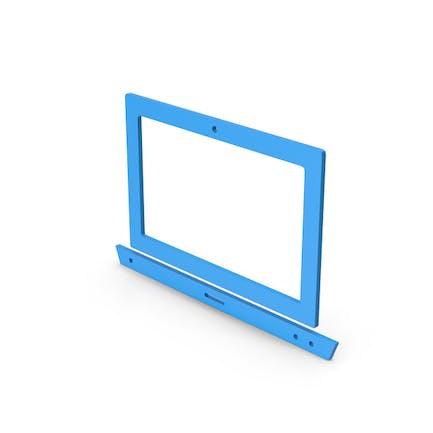 Symbol Notebook Blue
