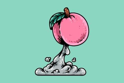 Rocket Peach Launch