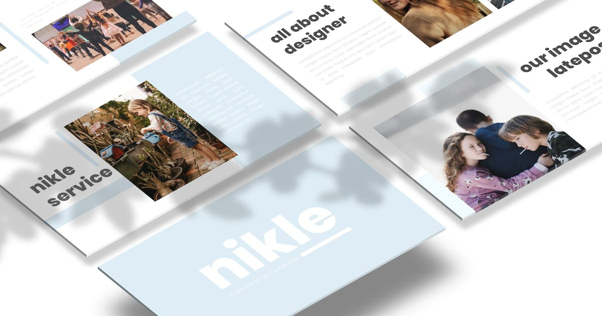 Download Nikle - Powerpoint Template by Macademia