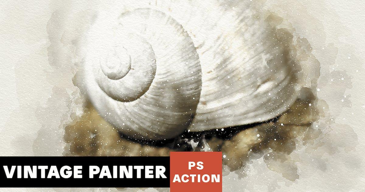 Download Vintage Painter Photoshop Action by AB-Designer