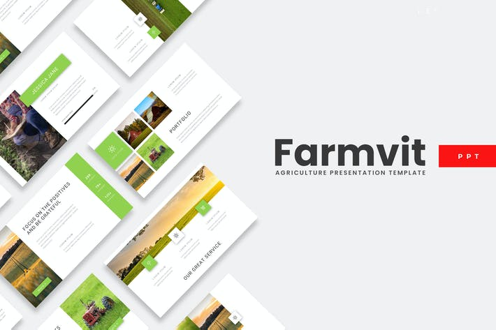 Thumbnail for Farmvit - Agriculture Powerpoint Template