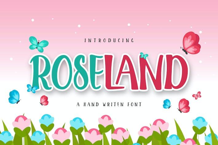 Thumbnail for ROSELAND Display font
