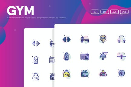 Gym Icon Pack