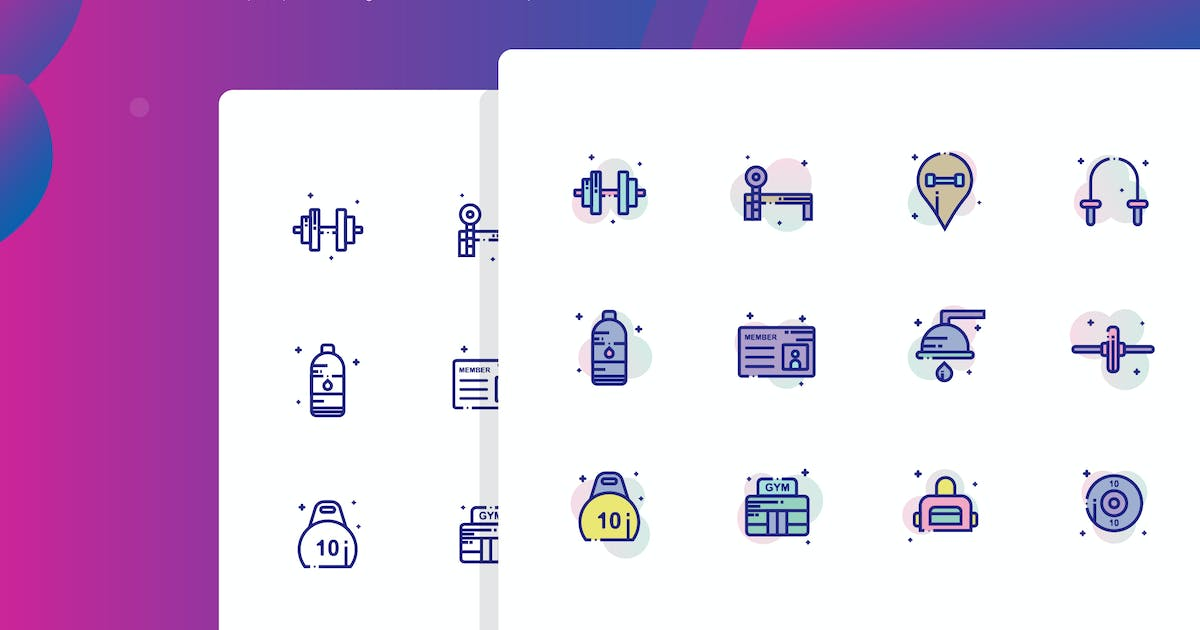Download Gym Icon Pack by inspirasign