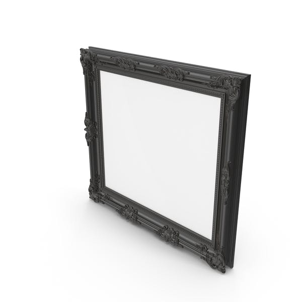 Thumbnail for Big Black Baroque Picture Frame