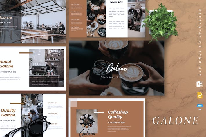 Thumbnail for GALONE - Coffee Shop Powerpoint/Keynote/Google Sli