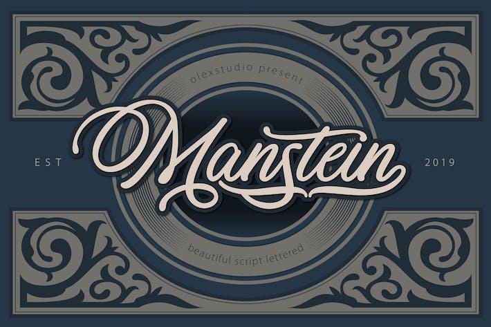 Thumbnail for MANSTEIN - Escritura manuscrita
