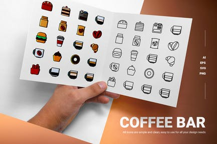Coffee Bar - Icons