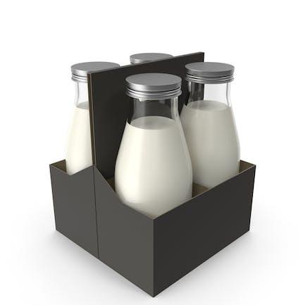 Estuche para botellas de leche