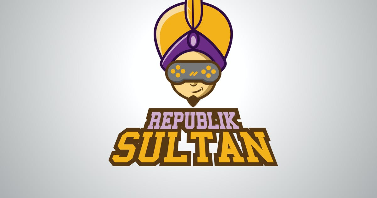 Download SULTAN GAMERS - Logo Vector by Olexstudio